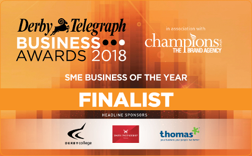 Derby Telegraph Awards 2018 Finalists logo